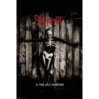 poster Slipknot - The Gray Chapter - GB Posters - LP1869