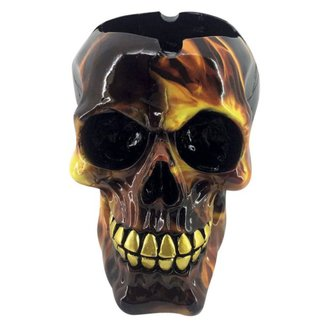 ashtray (decoration) Skull Hellfire