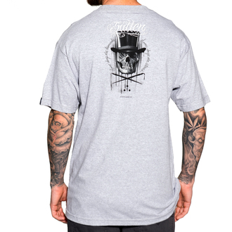 t-shirt hardcore men's - Diamonds And Stones - SULLEN - GRY