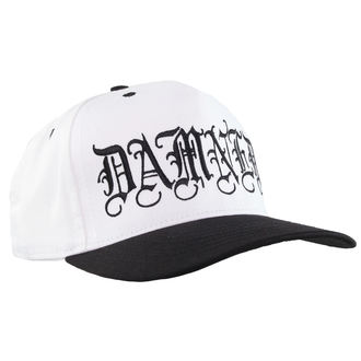 cap CVLT NATION - Damned - White / Black, CVLT NATION