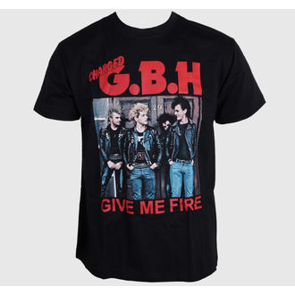 t-shirt metal men's G.B.H. - Give Me Fire - CARTON - K_509