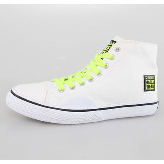 high sneakers women's - Canvas HI - VISION, VISION