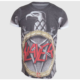 t-shirt metal men's Slayer - Silver Eagle - ROCK OFF - SLAYPSB01