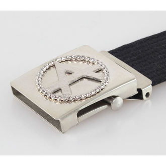 belt ANARCHY - Black, BLACK & METAL