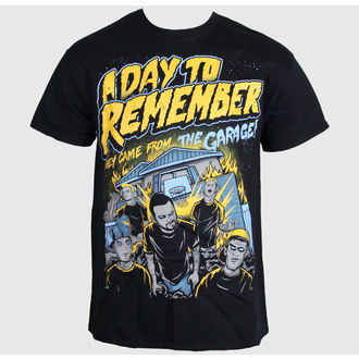 t-shirt metal men's A Day to remember - They Came From The Garage - LIVE NATION - PE11939