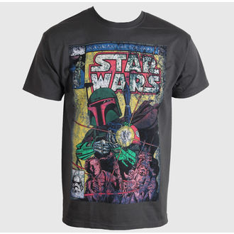 film t-shirt men's Star Wars - Boba Blast Fotl - LIVE NATION - PE11885