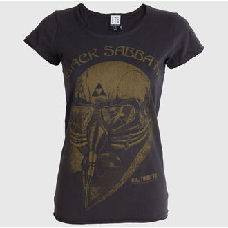 t-shirt metal women's Black Sabbath - Black Sabbath - AMPLIFIED - ZAV601U78