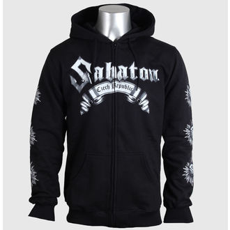 hoodie men's Sabaton - Czech Republic - CARTON - BKZ_615