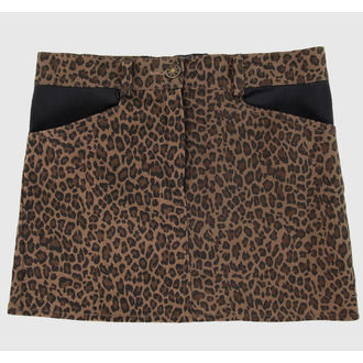 skirt women's COL LECTIF - Brown - CLO33