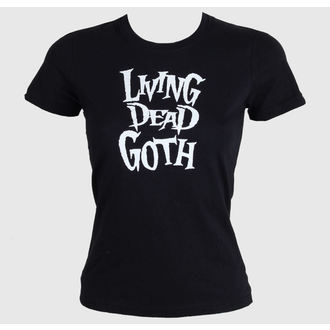 t-shirt women's - Living Death Goth - BAT ATTACK