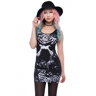 dress women IRON FIST - Garden Secrets - Black - IFLDRS057