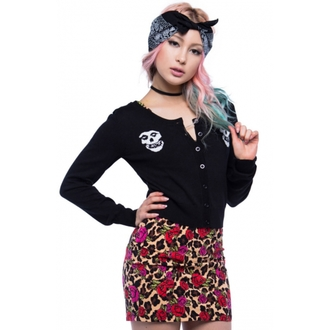 sweater women's IRON FIST - Misfits - Black - IFLSWT020