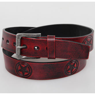belt PENTAGRAM - Red - JM 002