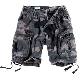 shorts men SURPLUS - Airborne vintage - Black Come - 07-3598-42