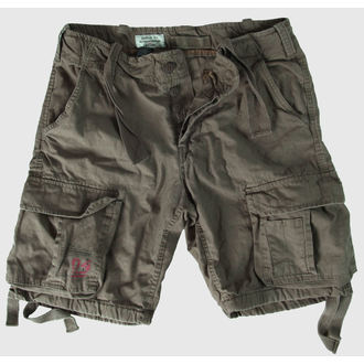 shorts men SURPLUS - Airborne Vintage - Olive Gewas - 07-3598-61