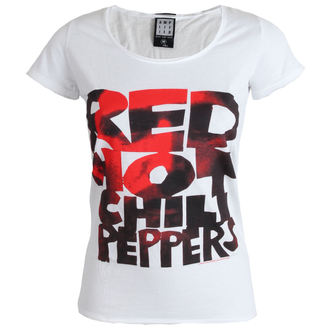 t-shirt metal women's Red Hot Chili Peppers - Type Face Fill - AMPLIFIED - ZAV601CPF