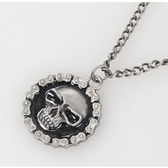 necklace SKULL - PSY009