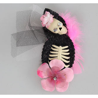 hairclip Pink Skeleton - NS164