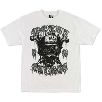 t-shirt men METAL MULISHA - Bolt - WHT