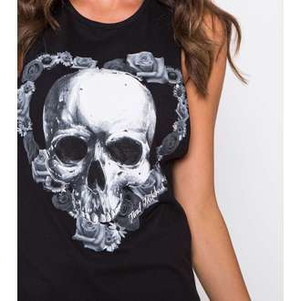 top women METAL MULISHA - Fade Into Darkness - BLK