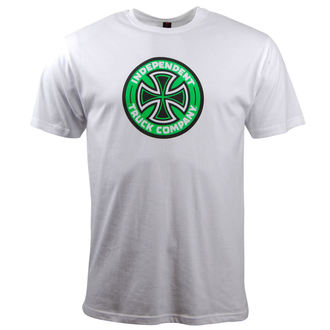 t-shirt street men's - Coloured - INDEPENDENT - White