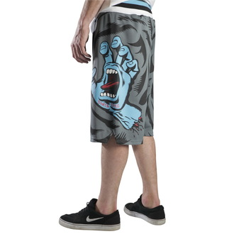 shorts men SANTA CRUZ - Screaming Camo - Black