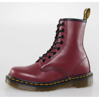 boots DR. MARTENS - 8 eyelet - 1460 - CHERRY RED SMOOTH