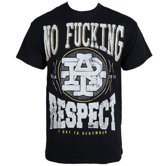 t-shirt metal men's A Day to remember - Respect - LIVE NATION - PE12153TS