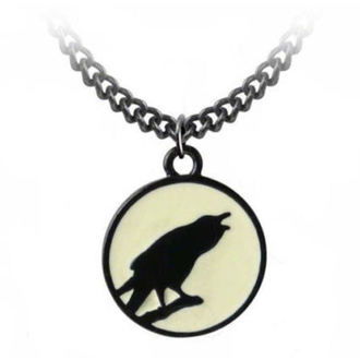 necklace ALCHEMY GOTHIC - Caw At The Moon - P735