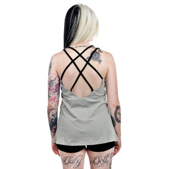 top women TOO FAST - Grey- WTDY-T-CHMRA