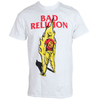 t-shirt metal men's Bad Religion - Flame - LIVE NATION - PE12157TS