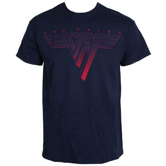 t-shirt metal men's Van Halen - Classic Logo - LIVE NATION - PEVHA018