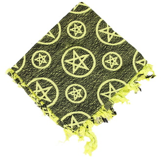 kerchief ARAFAT - palestine - PENTAGRAM - APPLE GREEN