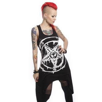 dress women POIZEN INDUSTRIES - Anarchist - Black