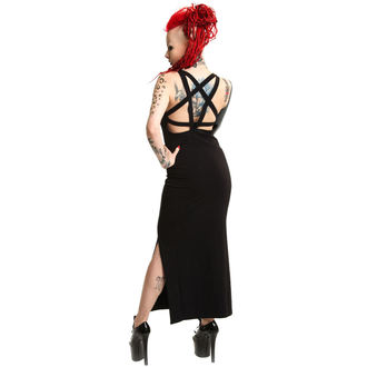 dress women POIZEN INDUSTRIES - Black Cat - Black