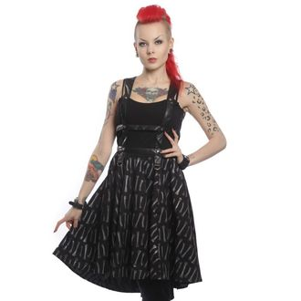 dress women VIXXSIN - Bone Garden Srap - Black