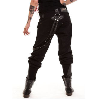 pants women POIZEN INDUSTRIES - Grain - Black
