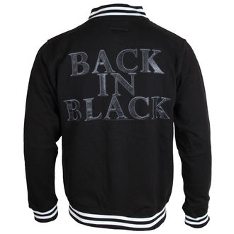 sweatshirt (no hood) men's AC-DC - Back In Black - PLASTIC HEAD - PH9281BBSJ