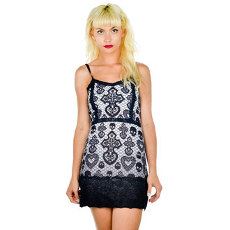 dress women TOO FAST - Curse - Skull Lace, TOO FAST