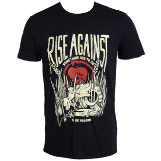 t-shirt metal men's Rise Against - Vulture - LIVE NATION - PE12115TSBP
