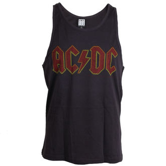 top men AC / DC - Logo - Charcoal - Amplified - ZAV319ACL