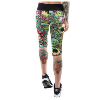 pants women 3/4 (leggings) IRON FIST - Oh No! - Multi - IF103037