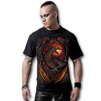 t-shirt men's - Dragon Furnace - SPIRAL - L016M101