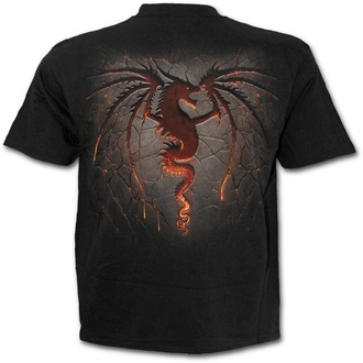 t-shirt men SPIRAL - Dragon Furnace - L016M101