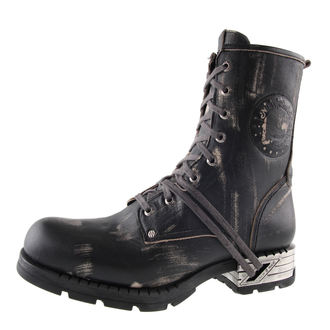leather boots men's - Motorosk Negro - NEW ROCK - M.MR001-C4
