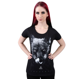 t-shirt hardcore women's - Bad Wolf - AMENOMEN - OMEN015DA