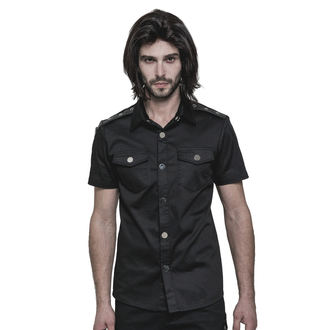 Men's shirt PUNK RAVE - Casual - OY-860 BK