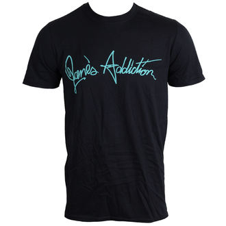 t-shirt men Jane's Addiction - logo - LIVE NATION - DAMAGED - N079