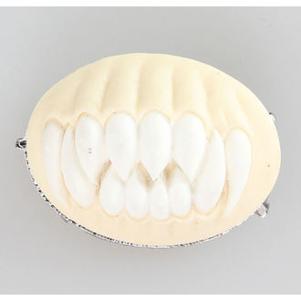 Brooch Restyle - TEETH - white, RESTYLE