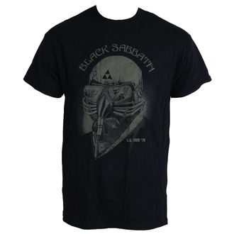 t-shirt metal men's Black Sabbath - US Tour 78 - ROCK OFF - BSTS01MB
